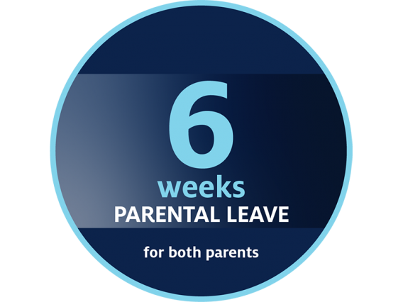 6 weeks of parental leave for both parents who are University of Arizona employees